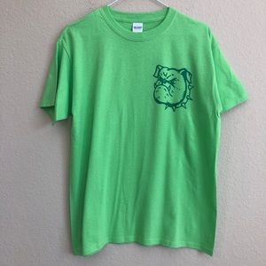 Vintage Bulldog Iron-On On New T-Shirt NWT